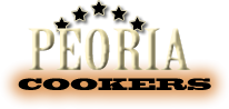 Peoria Cookers Logo